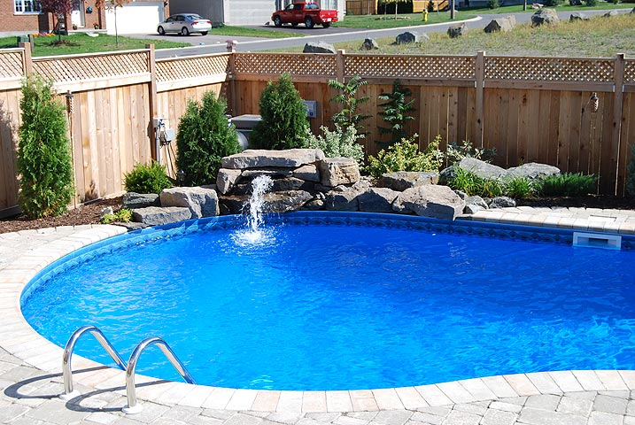 Special features jmd pools quality design for inground for Pool design ottawa
