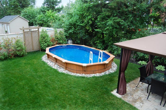 Semi inground pool kits joy studio design gallery best for Inexpensive in ground pool ideas