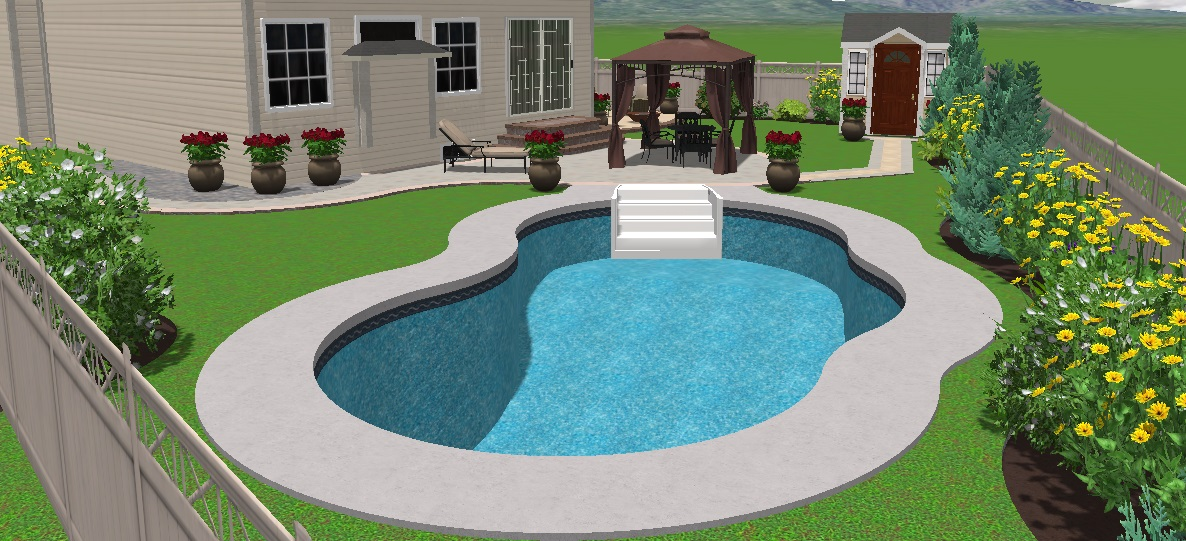 Orleans project siesta crt gemini 16x32 jmd pools for 16x32 pool design