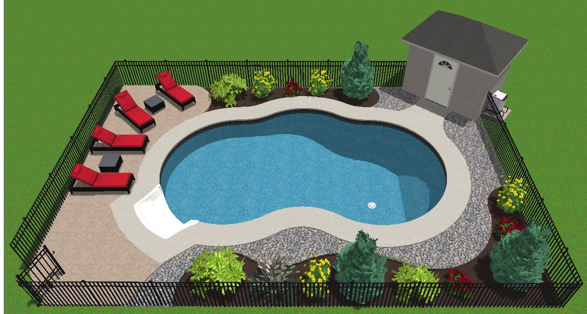 Manotick Project Pebblewoods Dr Gemini 18x36 Jmd Pools Quality Design For