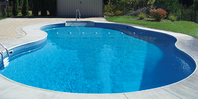 Radiant Pools Semi Inground Jmd Pools Quality Design