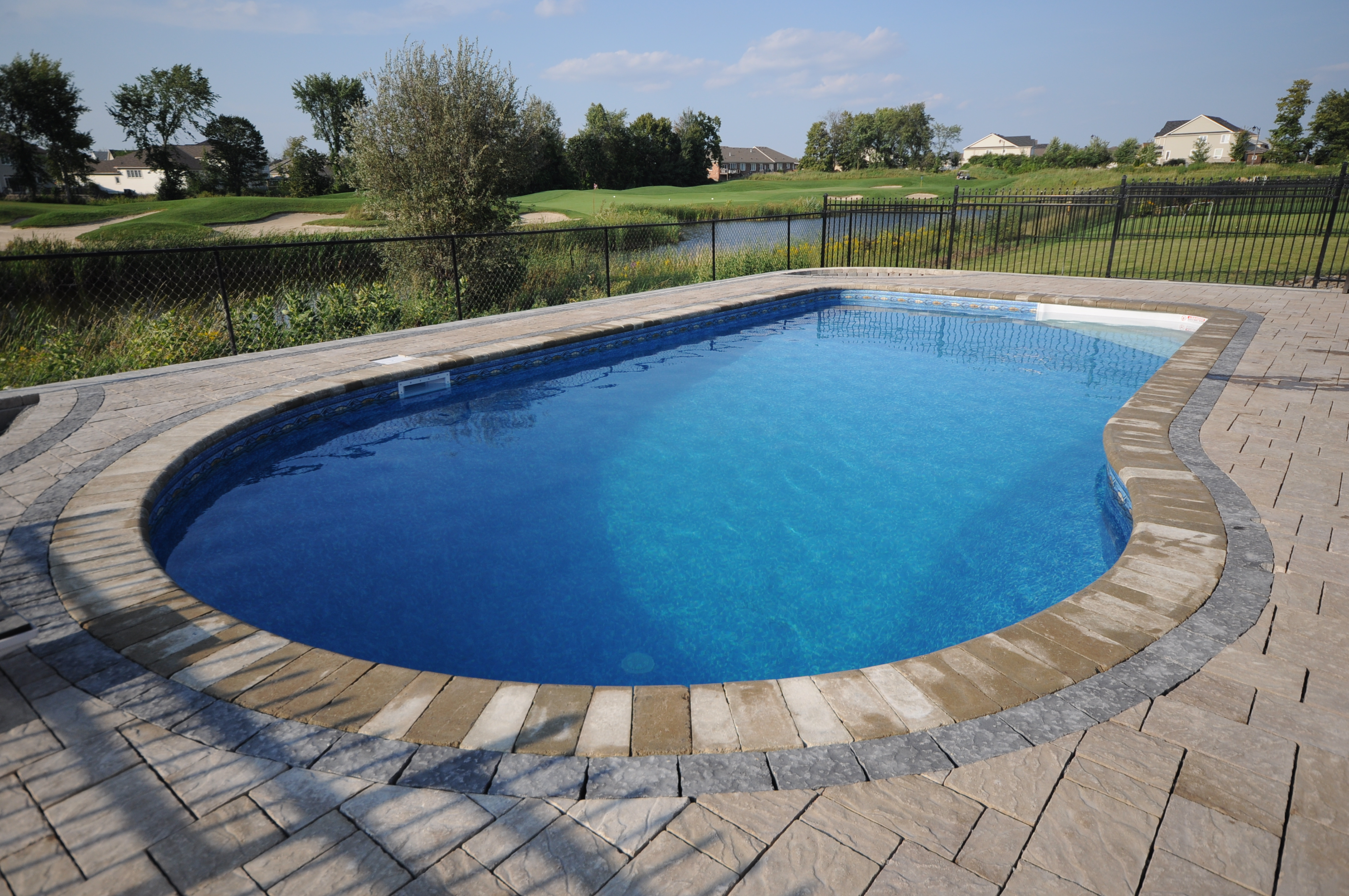 Inground pools gallery jmd pools quality design for for Pool gallery